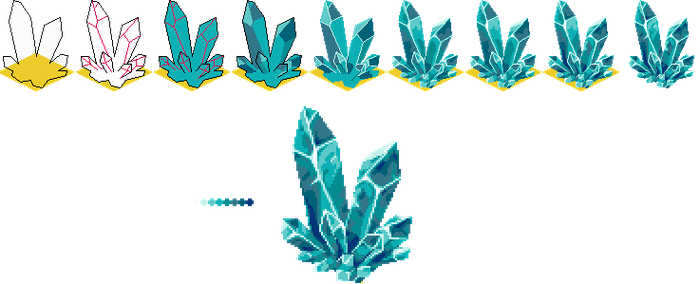 Pixel Crystal - Step by Step by NeoZ7