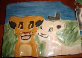 Lion King Tile 1 by theOrangeSunflower