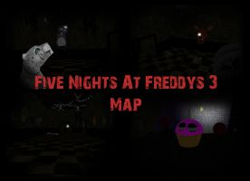 FNAF 3 Map by Zophrenia