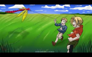 Let's Go Fly A Kite - FMA by Ahr0