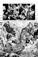 GoW page from issue 3 by LiamSharp