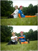 Homestuck: Fist Bump by CosplayerWithCamera