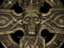Skull Cross 2 by Gothicmama