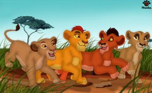 Four Cubs by Mayshha