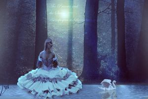 The Princess And The Swan by elisacapogna-art