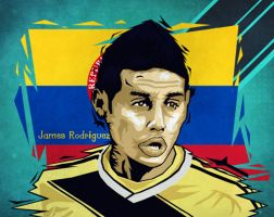 James RodrIguez by dicky10official