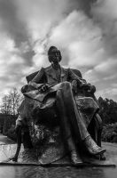Chopin monument by azabek