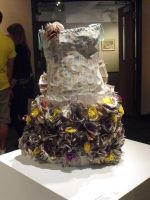 Recyclable dress- Front by Emzoid