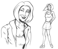 Stacy Young- life drawing 2 by Joe5art