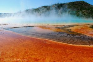 Grand Prismatic Spring by jayshree
