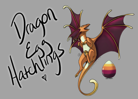 Dragon Egg Hatchlings! [Egg #7] by CoyoteAdopts