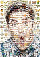 Darren Criss Mosaic by Cornejo-Sanchez