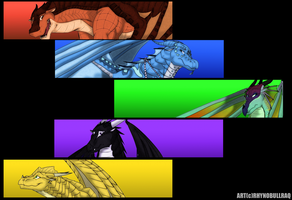 Wings of Fire 2nd Wallpaper by RhynoBullraq