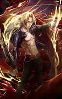 Edward Elric Smudge by Kabise
