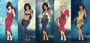 Disney's Ocean Fashion by Arinna007