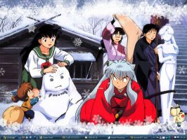 Inuyasha Wallpaper by xjuniorm