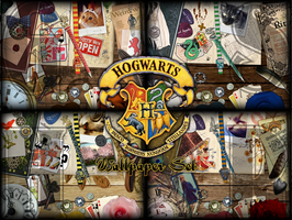 Hogwarts Houses by Croiea