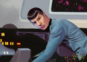 Commander Spock by RogueTrader58