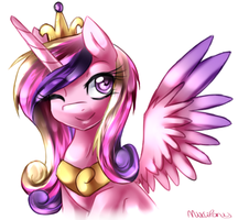 Princess Cadence by miss-mixi