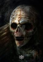 SWAMP ZOMBIE by S88ART