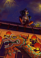 League of Legends Lunar Revel Entry by Vaelyane