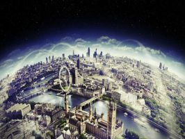 London Space Wiew (Wallpaper) by SottoPK
