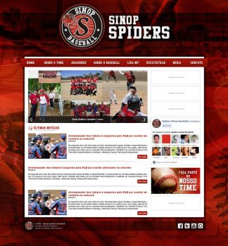 Sinop Spiders Baseball by kimberllyds