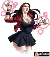 PATREON - Wanda Maximoff  AoU by IDarkShadowI