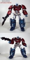 WFC BFtA Optimus Prime custom by Unicron9