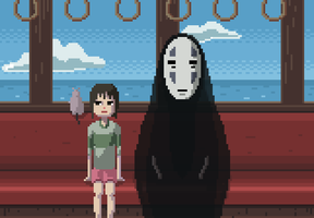 Spirited Away by Dehtyar