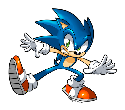 Sonic the hedgehog 2012 by NextGrandcross