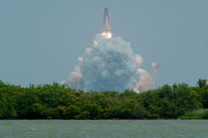 Atlantis STS-135 Final Launch by MontgomeryKern