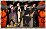 Happy Halloween - New Age of Witches by RedFalcon23