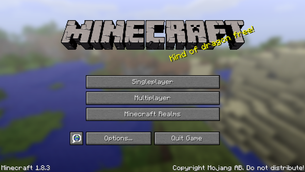 Oh Minecraft screen by btaylor0412