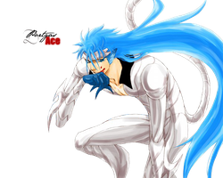 Render Grimmjow Jaggerjack by Portgas-D-Ace29