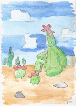 Cactii by Pablo618