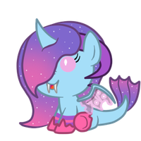 Custom: Unnamed X Sweet Filly for dragonlover786 by SilverRomance