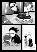 Sweet Surprise : A Teen Titan fancomic Page. 2 by Midori2501Aikou