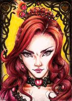Melisandre of Ashai - The red woman by vvveverka