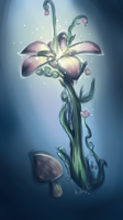 Gw2 Plant by FigureEight