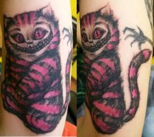 Cheshire Cat Hess Style by Dripe