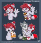 Cyberblade telegram stickers by pandapaco