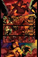 """Torneo 2"" comic page by Brolo"