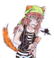 OLD DRAWING 2012 - Sora by HideNakajima