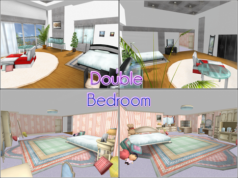 Double Bedroom by kaahgomedl