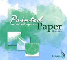 Painted Paper Textures by spiritcoda