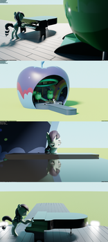 The Mane Attraction WIP 4 Set - Apple Stage by TheRealDJTHED