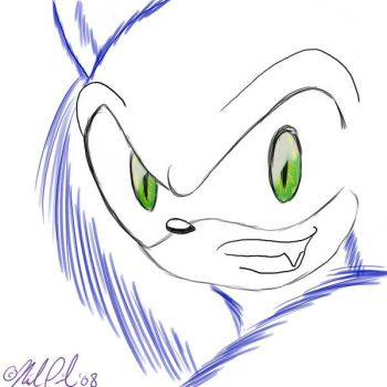 Were-Sonic - Eyes by indilee