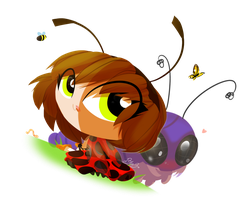 GF ~ Happy Bugday! by ITBluebeadTI