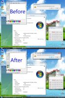 Turn Windows Vista Basic to AERO by AlexNet074